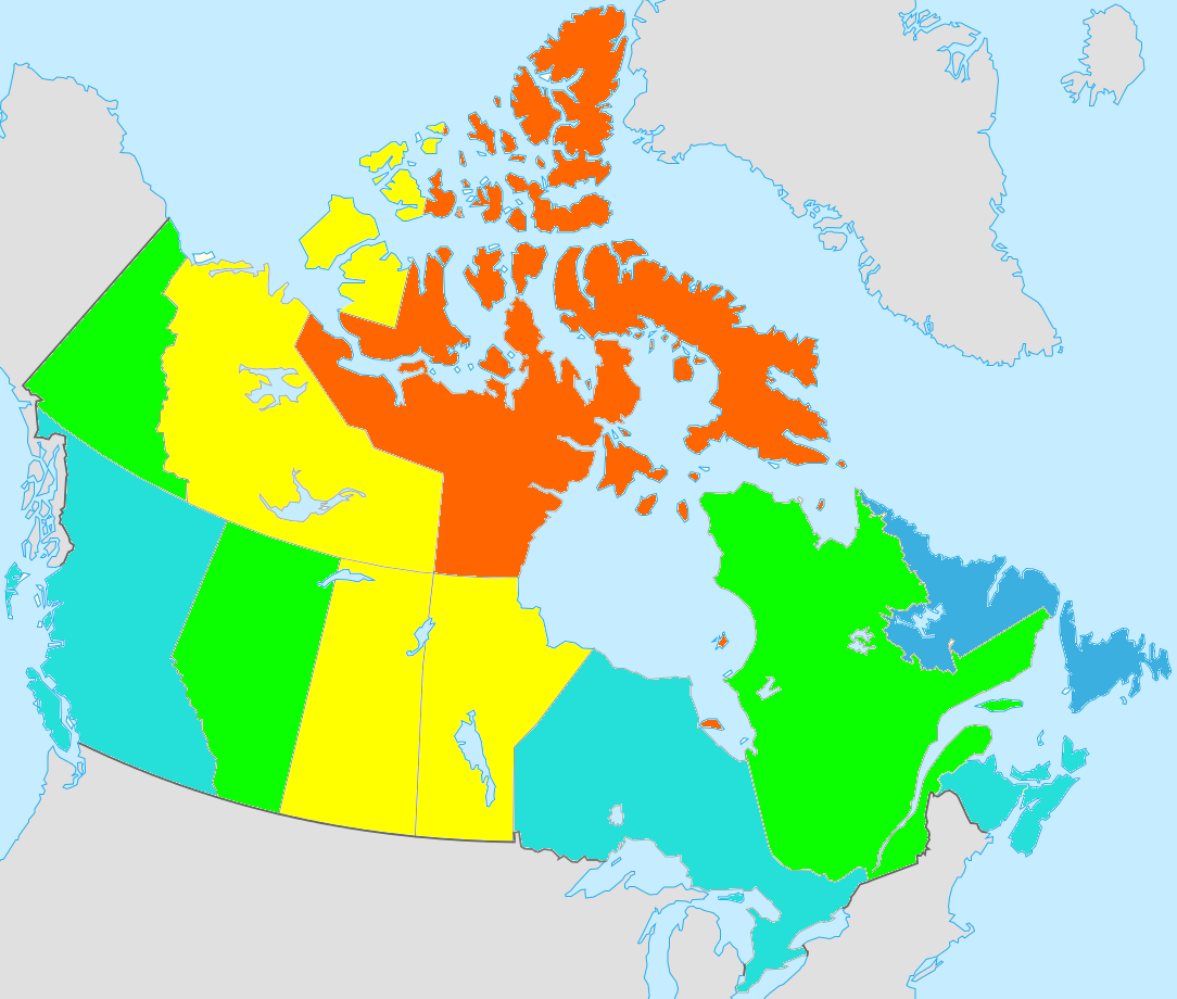 Map Of Canada During Confederation.Project Details